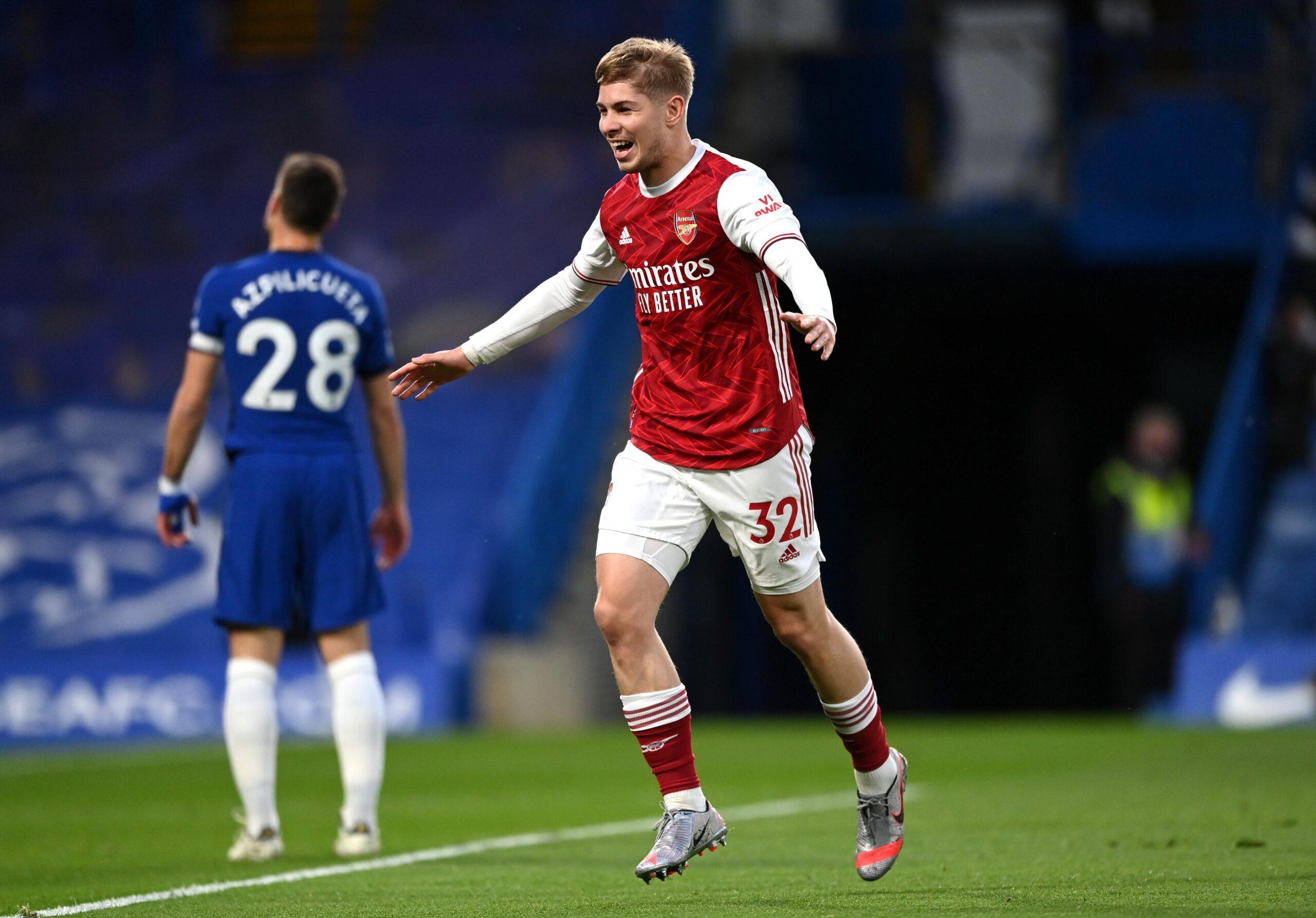 Smith scores for Arsenal